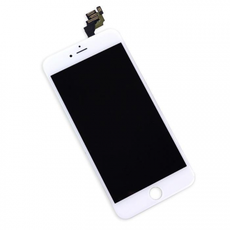 Display LCD iPhone 6 alb Original Complet cu casca si camera selfie