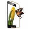 Folie protectie sticla gold iPhone 6 edge to edge