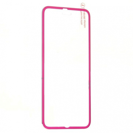 Folie protectie sticla rose iPhone 6 edge to edge