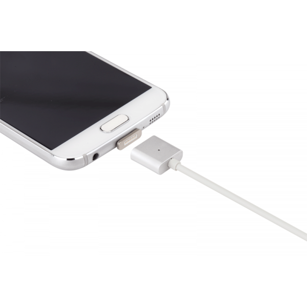 Cablu magnetic date si incarcare microUSB