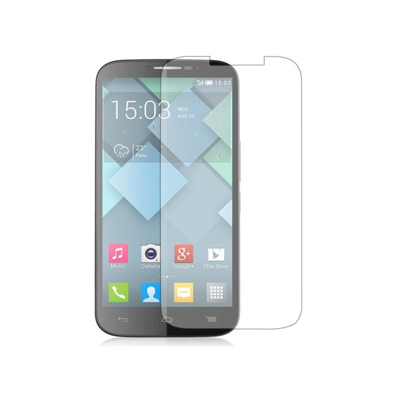 Folie protectie Alcatel One Touch Idol Mini OT-6012 transparenta
