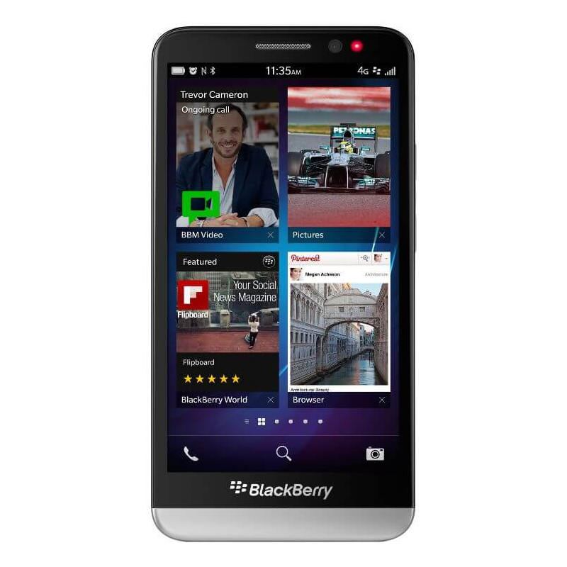 Decodare retea Blackberry Z30