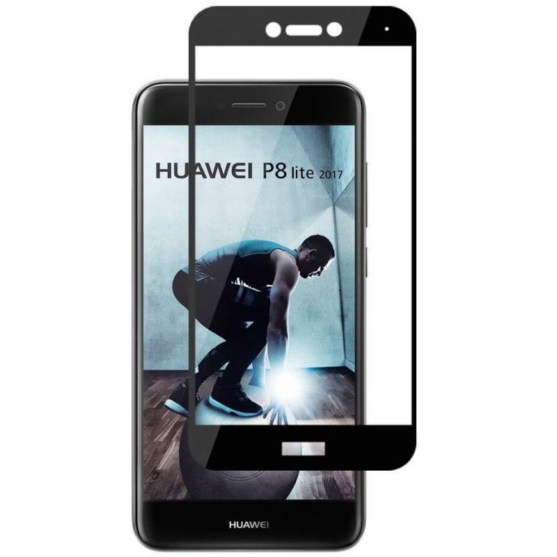 Folie protectie sticla 3D full size Huawei P9 / P8 Lite 2017