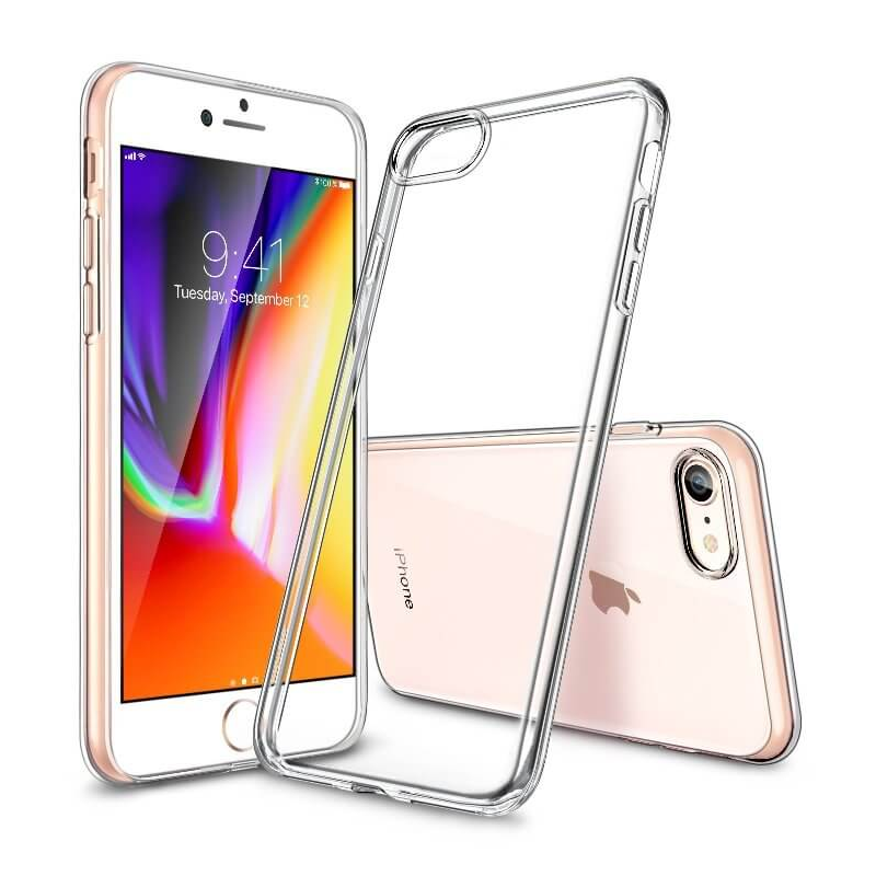 Husa iPhone 8 / 7 / SE 2020 ultraslim TPU Gel