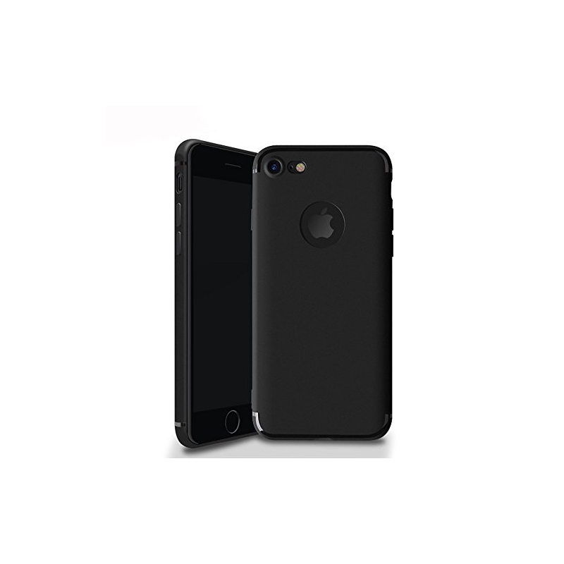 Husa iPhone 7 ultraslim TPU Gel negru