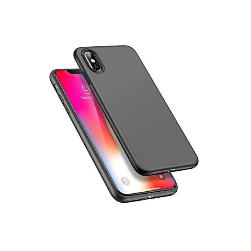 Husa iPhone X ultraslim TPU Gel negru