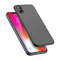 Husa iPhone X / XS ultraslim TPU Gel negru
