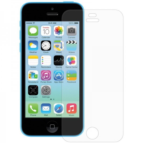 Folie protectie iPhone 5C plastic transparenta