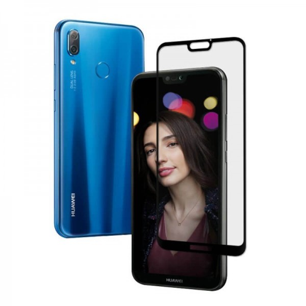 Folie protectie sticla 3D full size Huawei P20 Lite