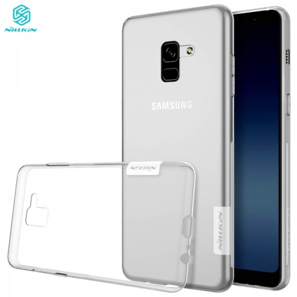 Husa Samsung Galaxy A8 Plus 2018 Nillkin nature TPU case