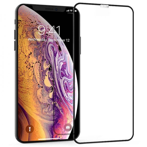 Folie protectie sticla 3D full size iPhone Xs Max