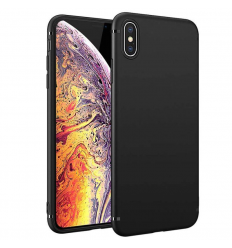 Husa iPhone Xs MAX ultraslim TPU Gel negru