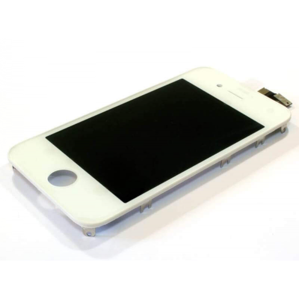 Display iPhone 4S Hand Made alb reconditionat