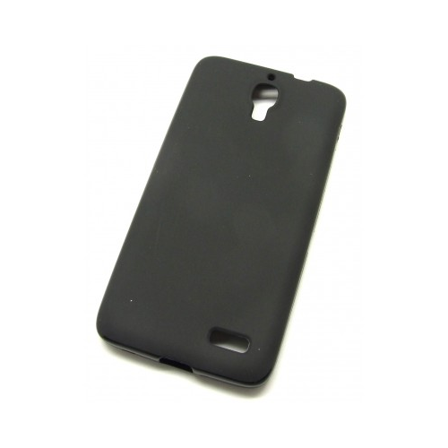 Husa Alcatel One Touch Idol OT-6030D antisoc TPU Gel neagra