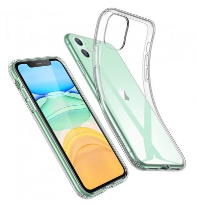 Husa iPhone 11 transparenta TPU Gel