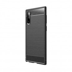 Husa Samsung Galaxy Note 10 Plus carbon fiber negru