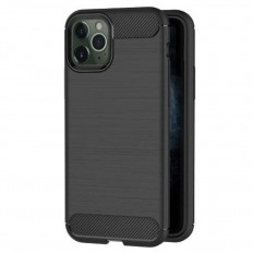 Husa Apple iPhone 11 Pro carbon fiber negru
