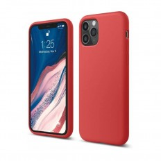 Husa Apple iPhone 11 Pro Silicone Case Rosu