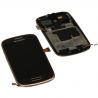 Display LCD Samsung Galaxy S3 mini i8190 i8200 Brown maro Original
