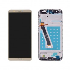 Ecran display complet cu rama Huawei P Smart Gold FIG-LX1
