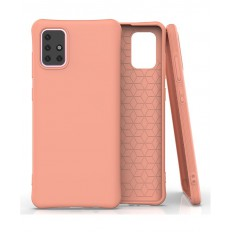Husa Samsung Galaxy A71 Anti Shock Matt TPU Orange