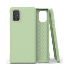 Husa Samsung Galaxy A71 Anti Shock Matt TPU Verde